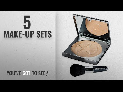 Top 10 Make-Up Sets [2018]: JML Mineral Magic - Powder and Brush Set