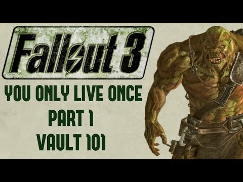 I completed Fallout New Vegas in a permadeath run without ever healing. Now I'm trying to do the same in Fallout 3