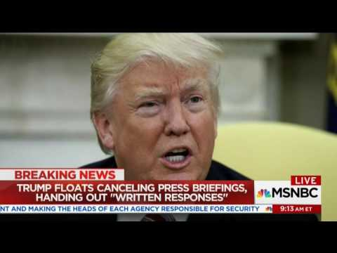 MSNBC: Dr Jason Johnson on Trump Interview with Lester Holt 5/12/17