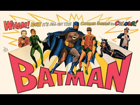 BATMAN HÄLT DIE WELT IN ATEM - Trailer (1966, German)