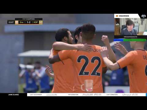 MI PRIMER DIRECTO DE FUT CHAMPIONS EN FIFA 18