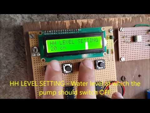 TANK BUDDY - An intelligent water level controller