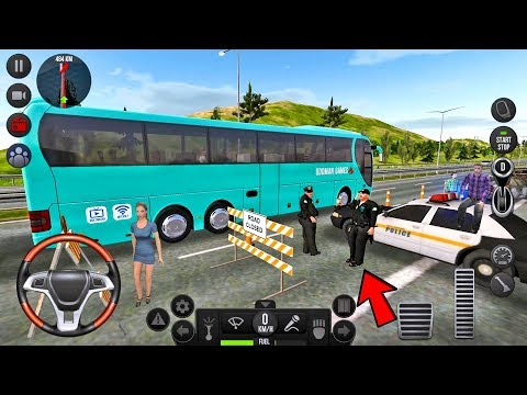 Bus Simulator Ultimate #13 Let's Go To Madrid! - Bus Games Android Gameplay
