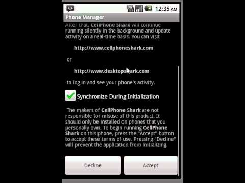 Cellphone Shark Registration