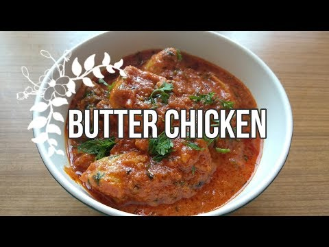 Butter Chicken Easy Way Without Onion   ബട്ടർ ചിക്കൻ