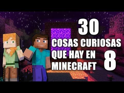 30 Cosas Curiosas Que Hay En Minecraft - Parte 8