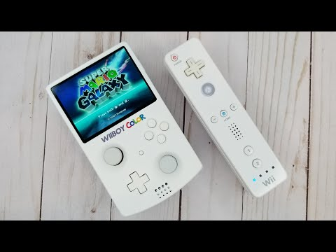 I Made A Portable Wii The Size Of A Gameboy Color - The Wiiboy Color