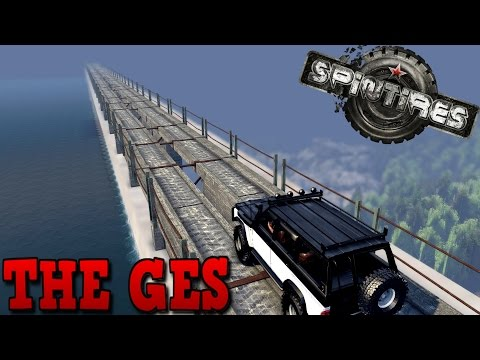SpinTires | The GES | Map Mod | Nissan Patrol, Tatra Kolos