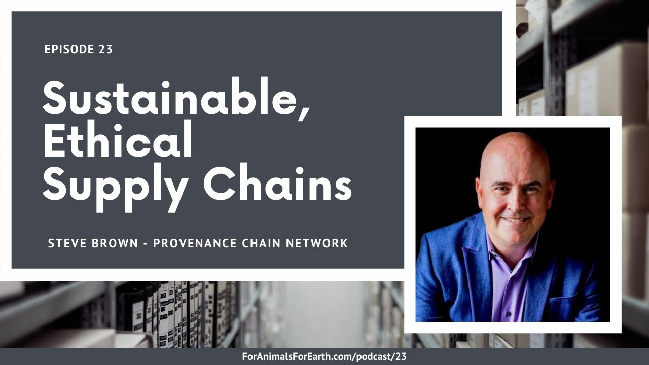 Sustainable, Ethical Supply Chains: An interview with Steve Brown