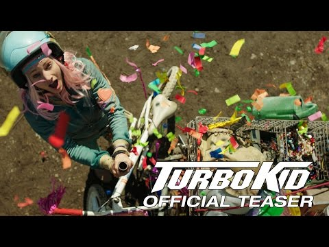 TURBO KID - Official Teaser - SXSW 2015 Audience Award Winner