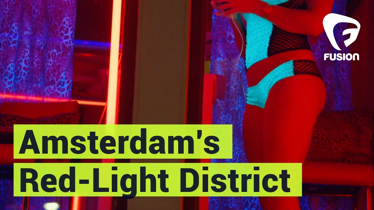 inside amsterdam red light district