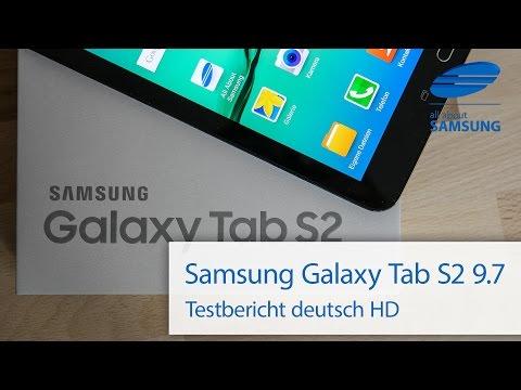 Samsung Galaxy Tab S2 9.7 Testbericht Test deutsch HD