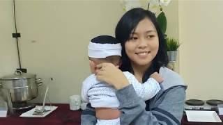 BIKIN GEMES! Rara Selfi Nabila Jamila & Ridwan DAA4  berlatih menjaga anak