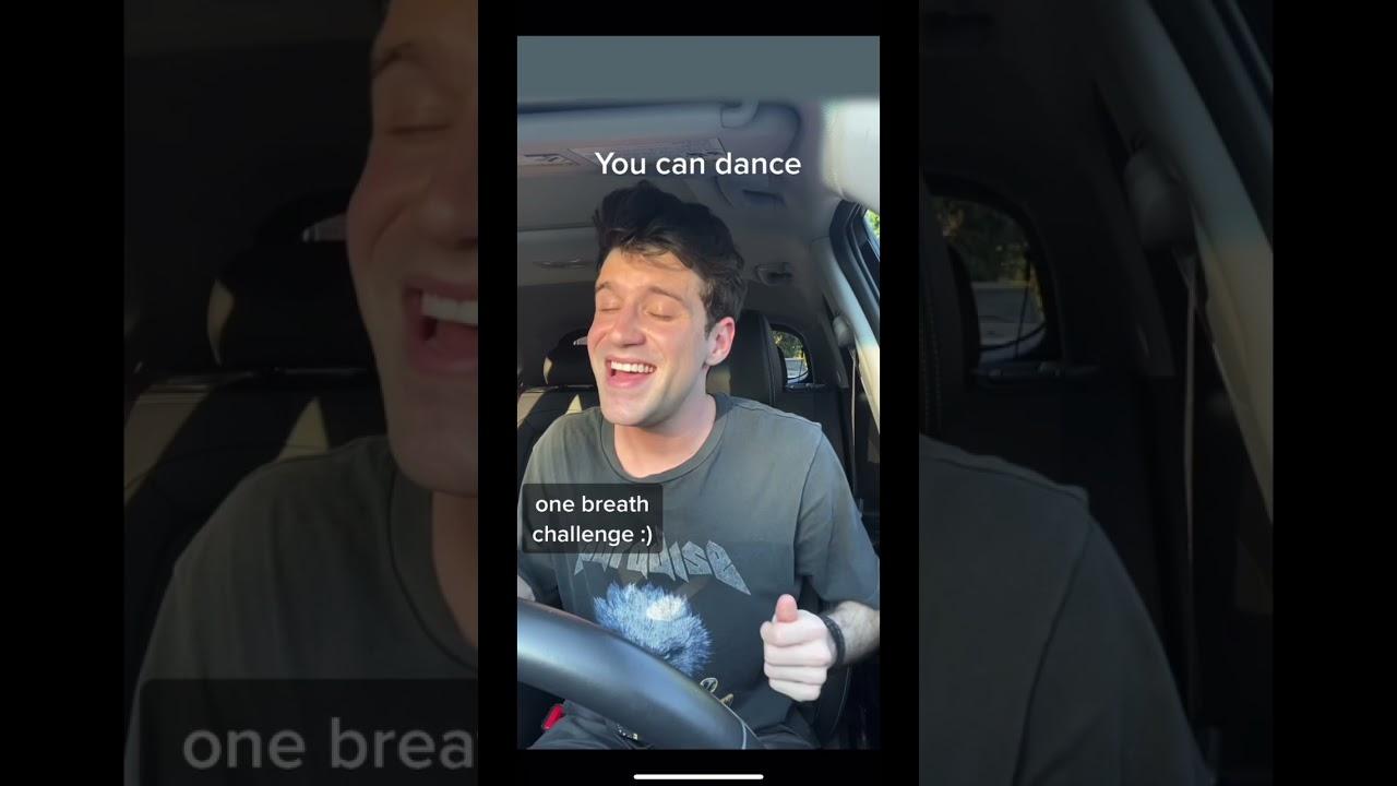 Dancing Queen - One Breath Challenge (Jonathan Tilkin Cover)
