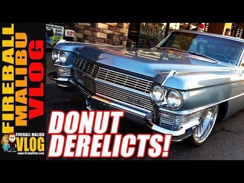 #DONUTDERELICTS Car Show in #HuntingtonBeach! - FMV557