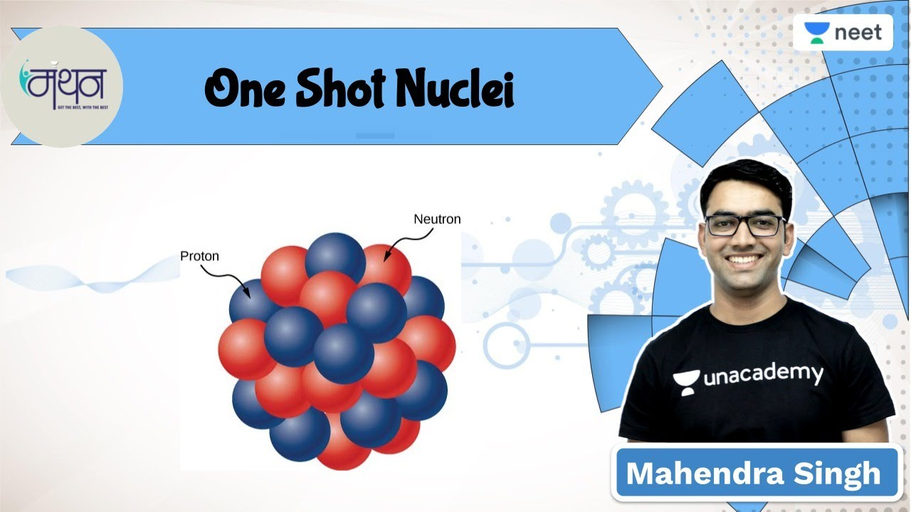 One Shot Nuclei with PYQ's | Manthan | Unacademy NEET l Mahendra Singh