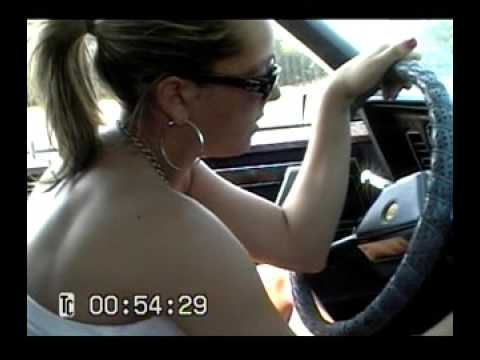 Ashley cranking the Chrysler part 1