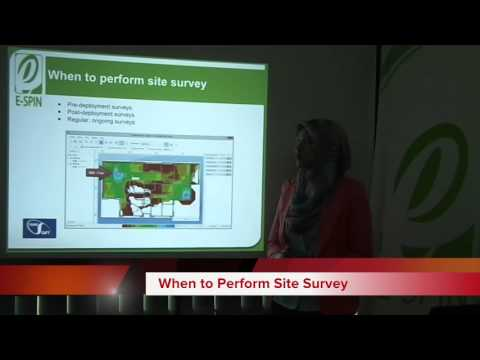 TamoGraph Wireless Site Survey Product Overview by E-SPIN