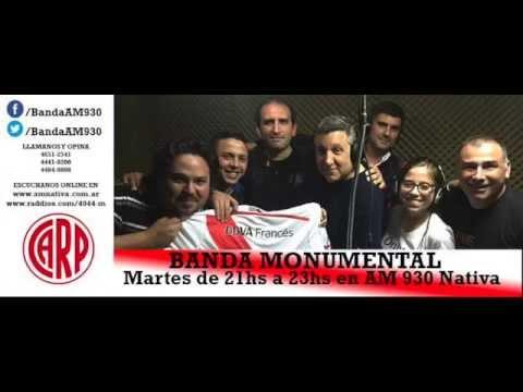 Banda Monumental AM 930 - Entrevista a Miguel Faravelli - Comision de River Federal