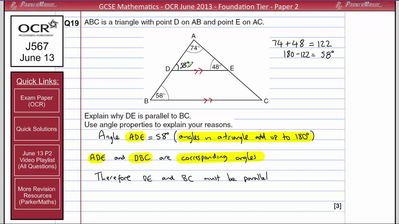 ocr maths terminal paper higher Ocr gcse maths (9-1) (from 2015) qualification information including specification, exam materials, teaching resources, learning resources  paper 4 higher tier .