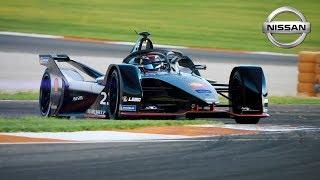 Nissan Formula E Testing in Valencia