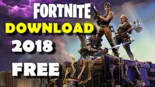 How to download Fortnite FAST in 2018 on PC 100% working 🎮