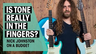 Can Nick Johnston sound like himself on a budget? | Thomann