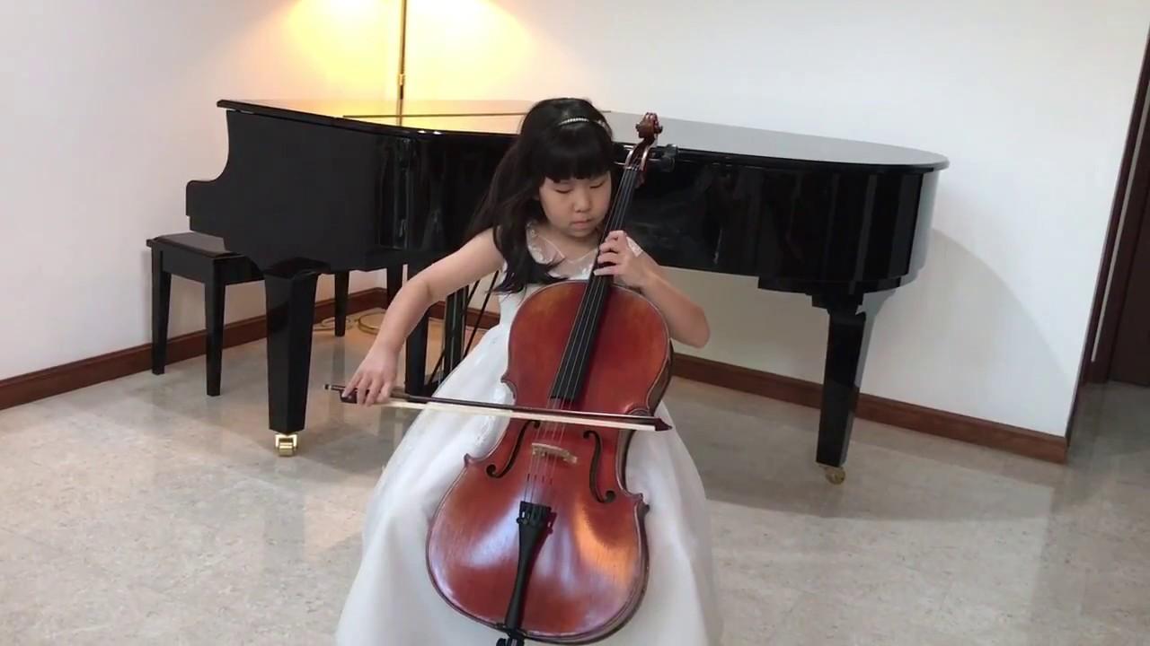 Jasmine Flower Chinese Folk Song In Cello Youtube