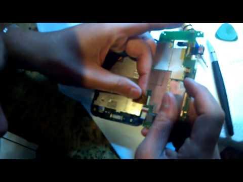 17. Замена сенсора на HTC s710e Incredible S. Как разобрать телефон?