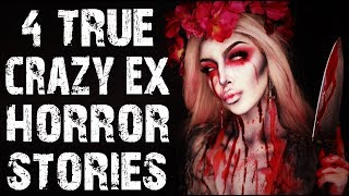 4 TRUE Crazy Ex & Tinder Horror Stories | Ft. Mrs. Mort | (Scary Stories)