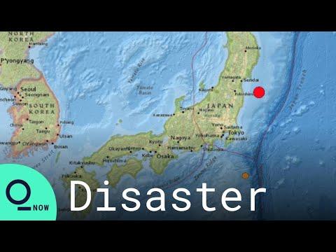 Japan Hit by 7.1-Magnitude Earthquake Off Fukushima