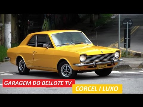 Garagem do Bellote TV: Corcel I Luxo, o Mustang brasileiro