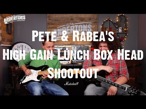 Pete & Rabea's High Gain Lunch Box Heads under £1000 Shootout
