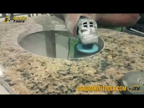 Drilling Countertop Holes