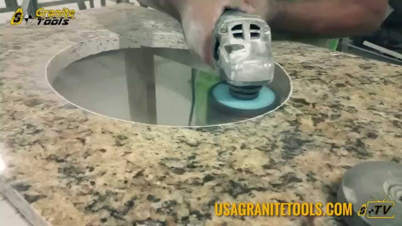 Drilling Countertop Holes You