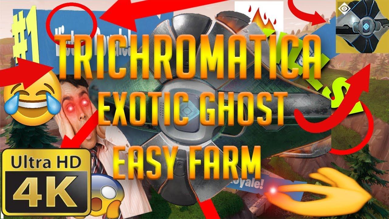 Fastest Trichromatica Exotic Ghost Nightfall Farm - Easy Guide - The