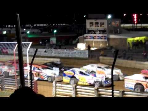 Selinsgrove Speedway Icebreaker 50 Feature Race Part 1