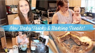 New Tricks, Baking Treats, Dinner, and Chill With Me!  Getting Stuff Done!