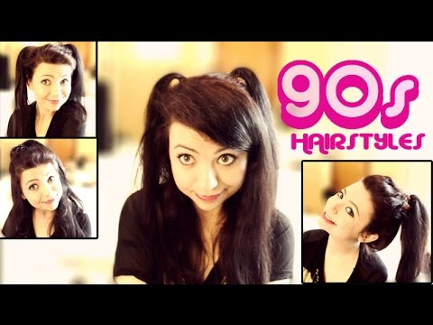 4 Easy 90 S Hairstyles Tutorial Youtube