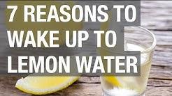 7 Reasons to Wake Up to Lemon Water