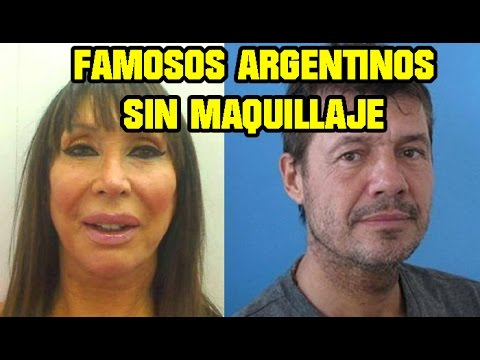 Famosos argentinos sin maquillaje youtube for Chimentos de famosos argentinos