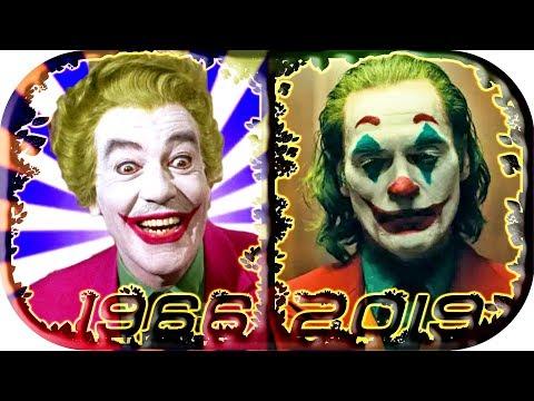 EVOLUTION of JOKER in Movies & TV 1966-2020 🤑 Joker  trailer 2019 Joker  movie scene