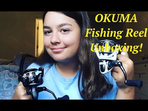 Okuma Fishing Reel Unboxing!