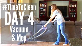 DAY 4 CLEANING SCHEDULE // #TIMETOCLEAN CHALLENGE // SPEED CLEANING ROUTINE
