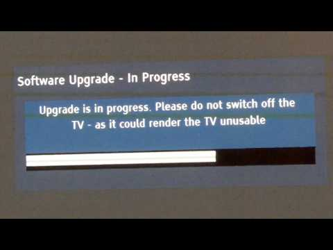 HOW TO: Upgrade Firmware on a Panasonic TV Veira Models