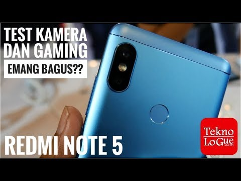 Xiaomi Redmi Note 5 - Tes Kamera & Gaming