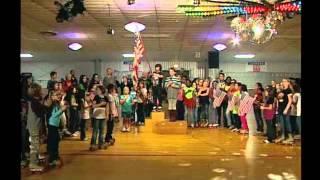 Kids Flashmob for Veterans Day Racine, WI 11/11/11