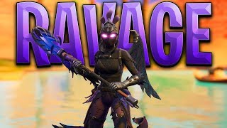 New Fortnite RAVAGE SKIN Gameplay..