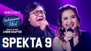 ANGGI X ARI LASSO - JIKA (Melly Goeslaw ft. Ari Lasso) - SPEKTA SHOW TOP 5 - Indonesian Idol 2021