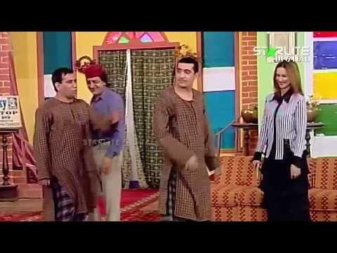 Zafri Khan, Nargis and Nasir Chinyoti New Pakistani Stage Drama Full Comedy Funny Clip